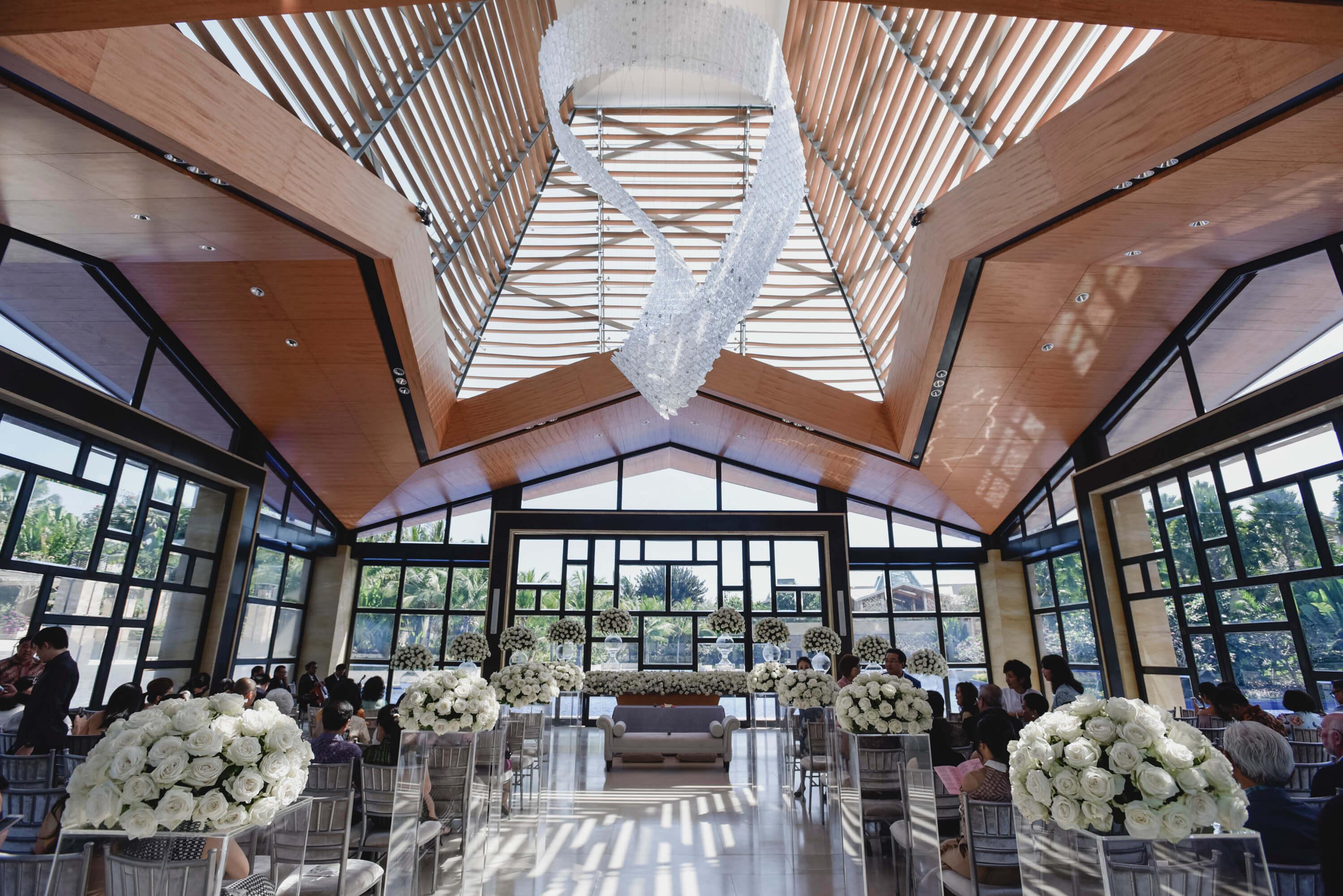 巴厘岛永恒教堂升级布置 巴厘岛永恒教堂婚礼
