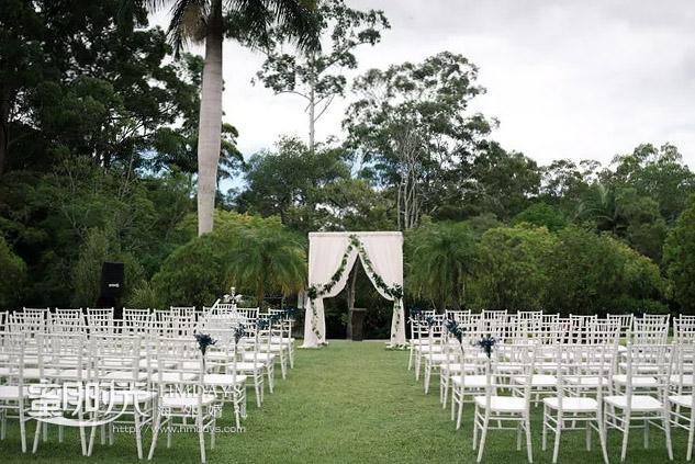 空场地展示 澳洲庄园草坪婚礼