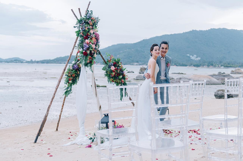 泰国苏梅岛万丽婚礼