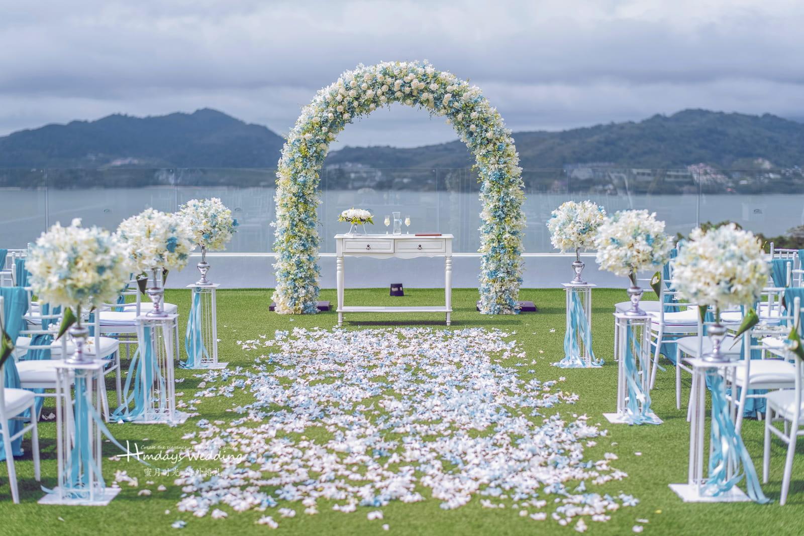 普吉岛Crest克雷斯特海景草坪婚礼
