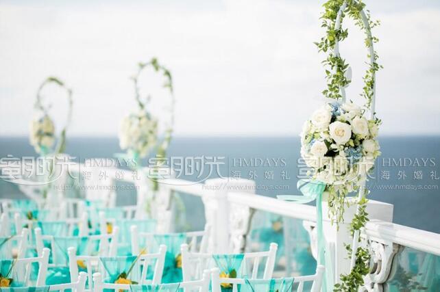 巴厘岛天空婚礼