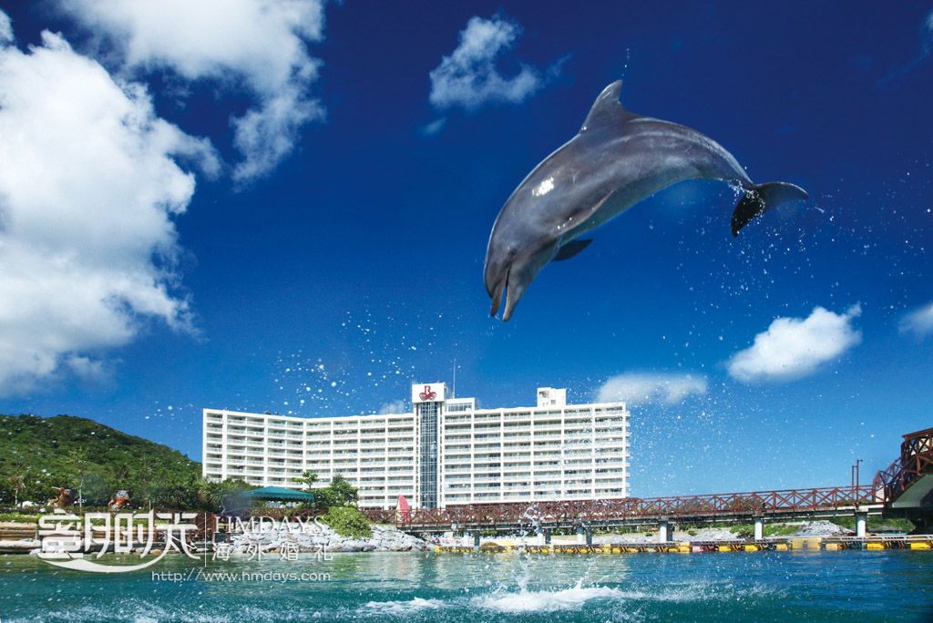 海豚酒店的特色 冲绳丽贝拉(海之心)教堂婚礼