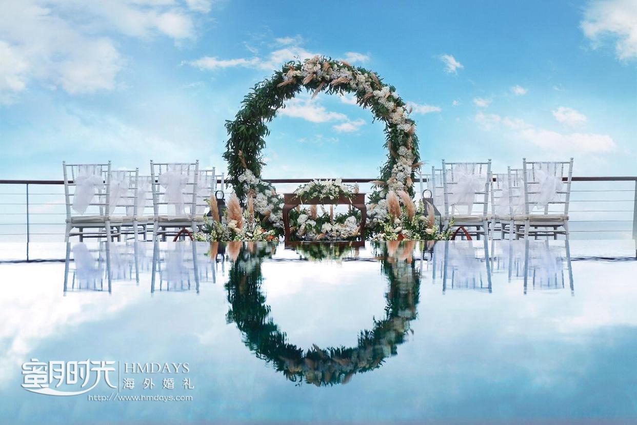 2019免费升级布置 巴厘岛艾吉别墅婚礼