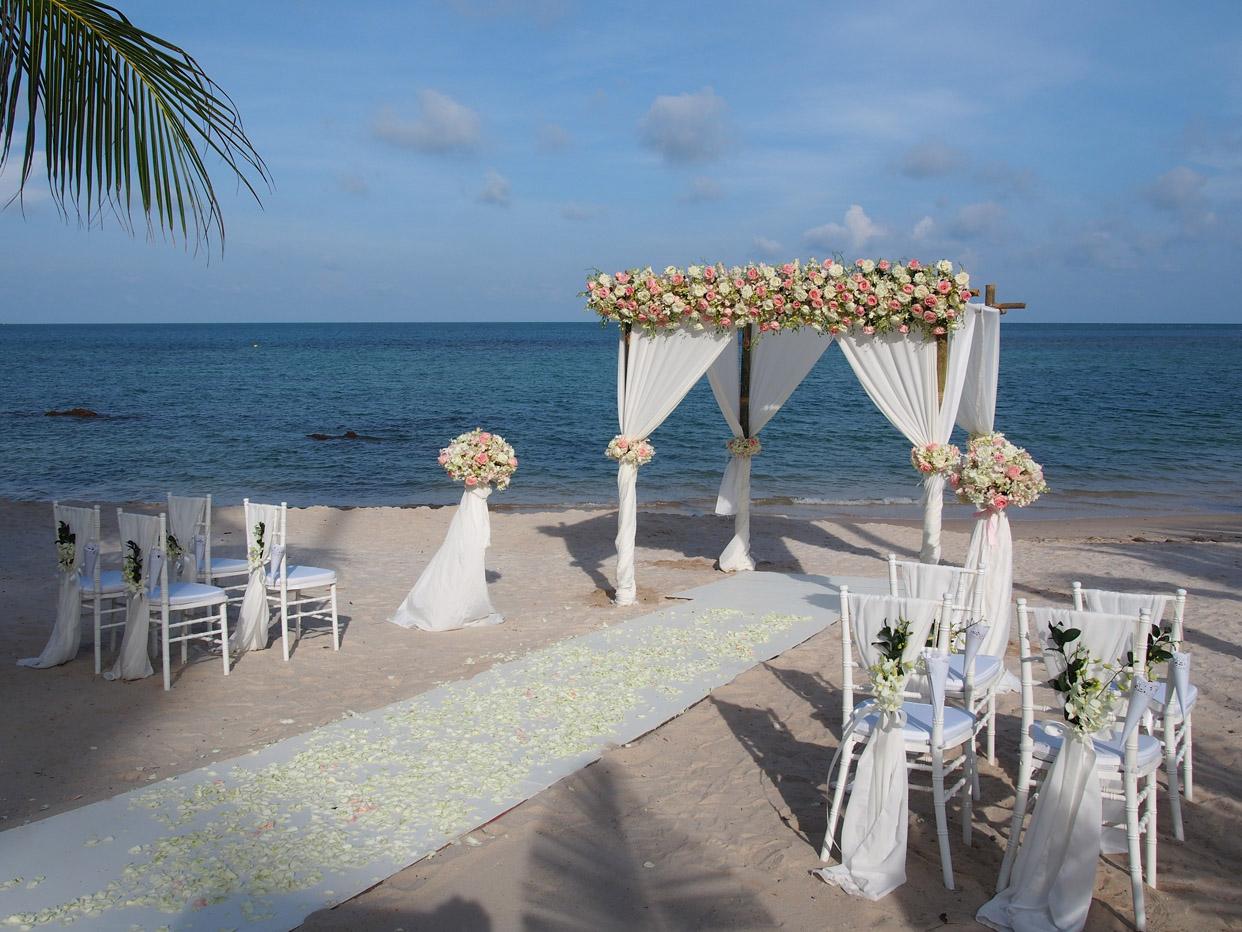 苏梅岛拉瓦娜婚礼