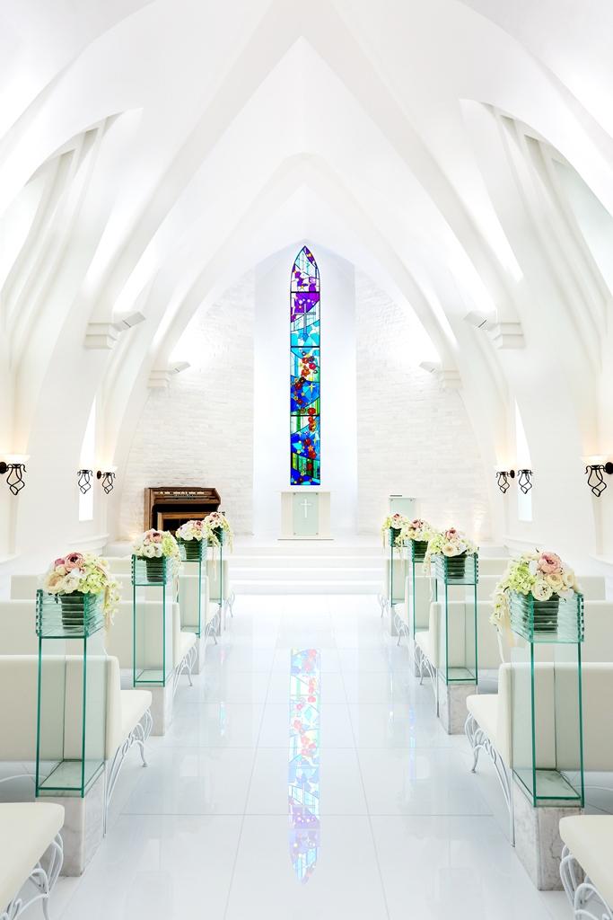 2019年标准布置实拍 冲绳斯黛拉(海之缘)教堂婚礼
