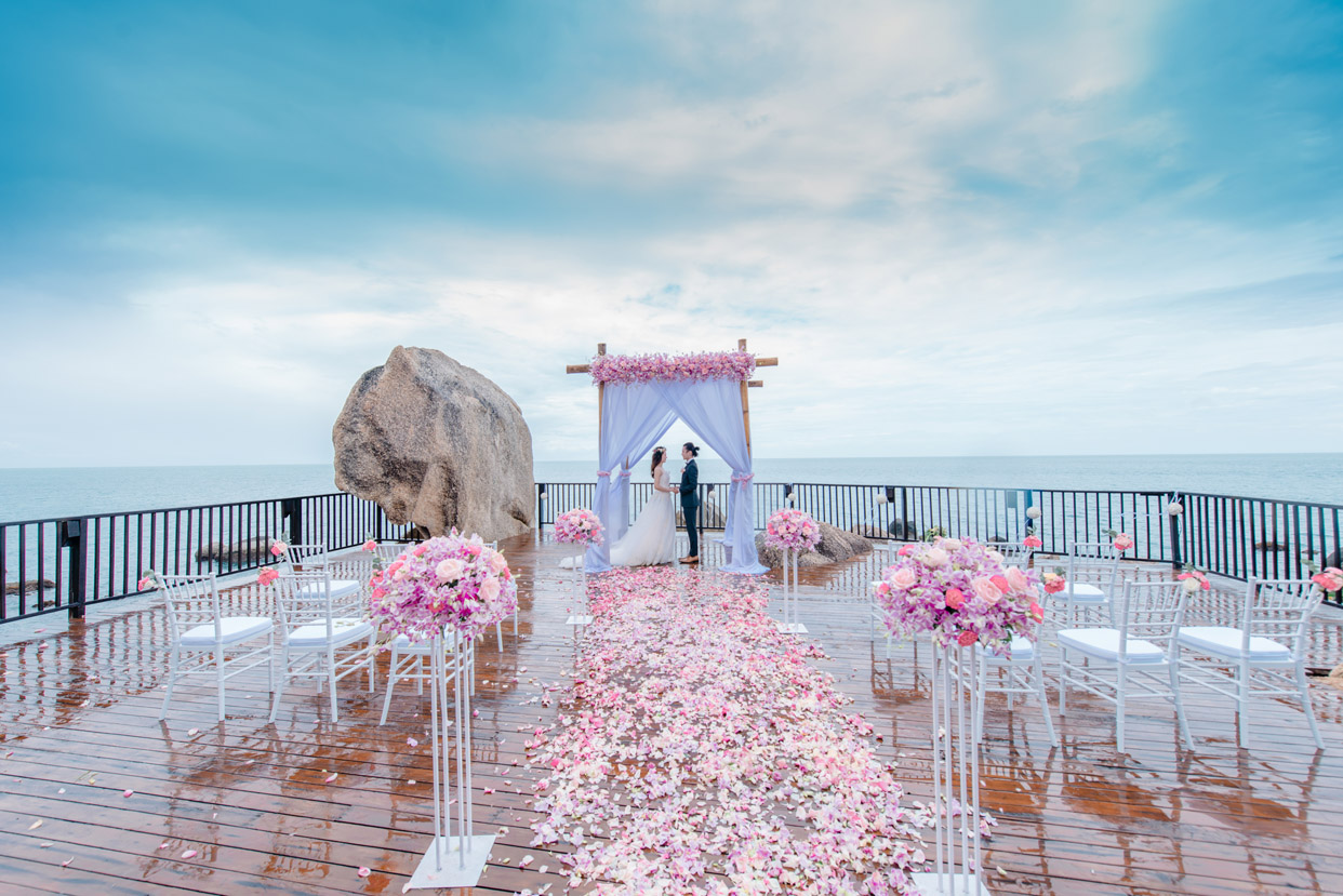 泰国苏梅岛思拉瓦迪婚礼