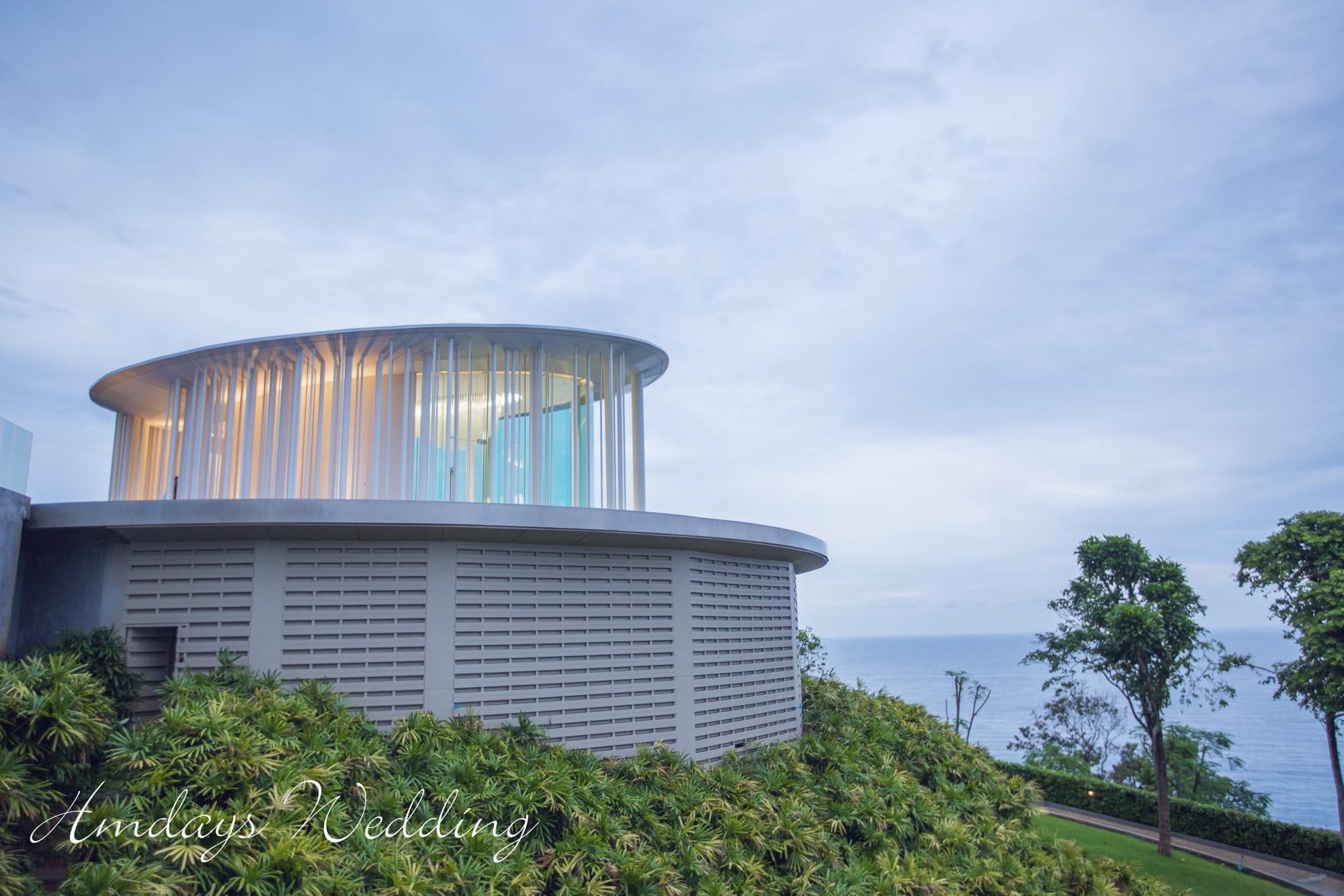 普吉岛海岸教堂婚礼