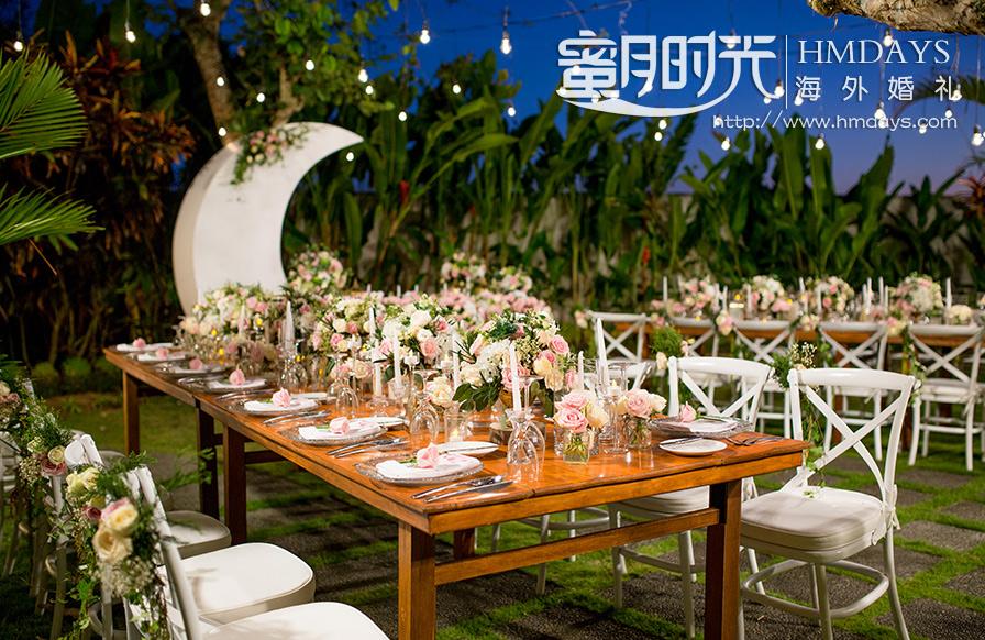 巴厘岛定制别墅婚礼
