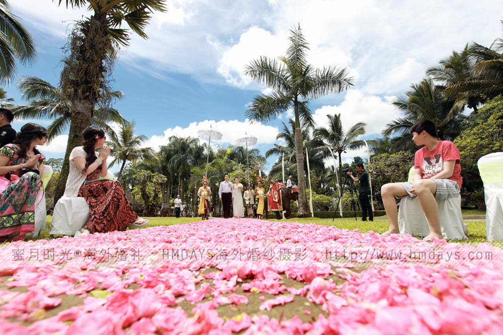 巴厘岛大象公园婚礼