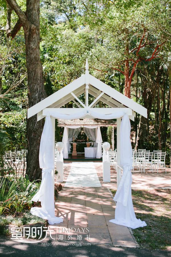 空场地展示 澳洲庄园森林婚礼