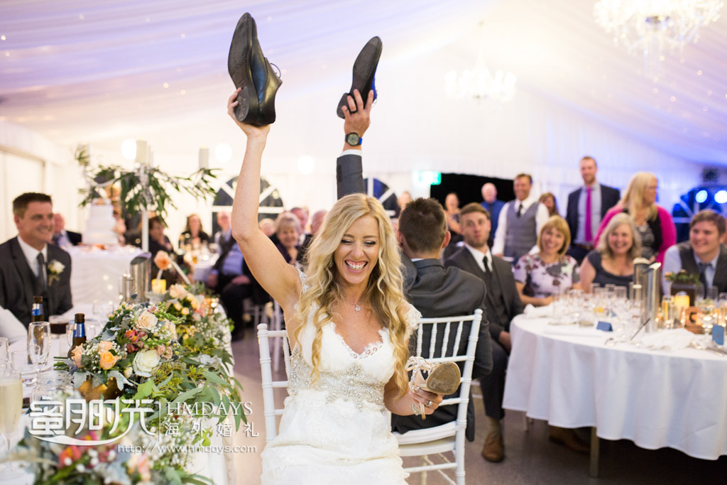 特别搞怪的新娘子 澳洲庄园婚礼晚宴