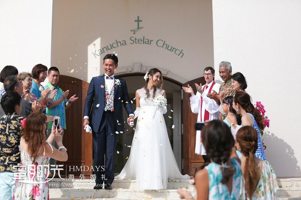 冲绳斯黛拉(海之缘)教堂婚礼