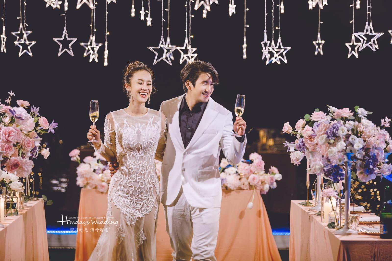 普吉岛天空之城婚礼场地样张参考 普吉岛天空之城婚礼