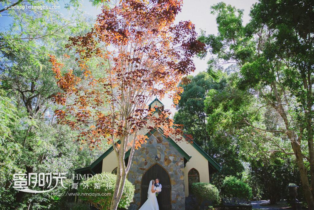 教堂前拍照 摄影师客片效果展示