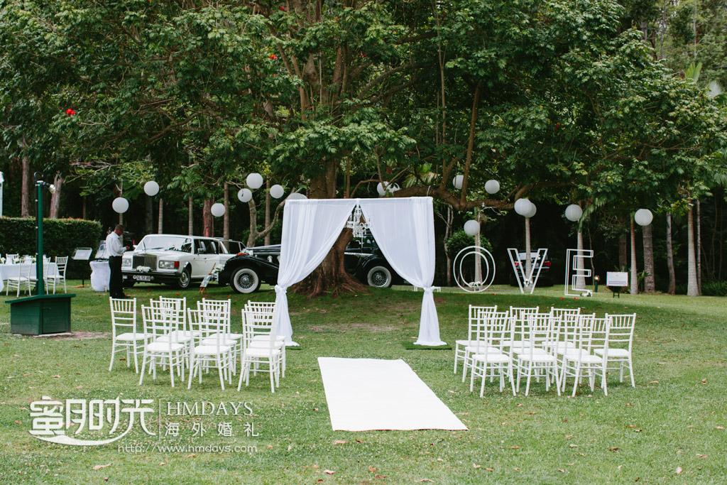 LOVE树下的澳洲海外婚礼 澳洲庄园大树婚礼