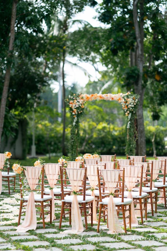 肉桂森系花园婚礼