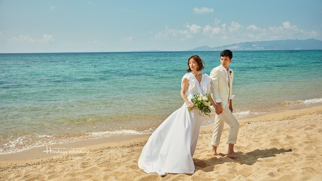 冲绳垣岛教堂婚礼