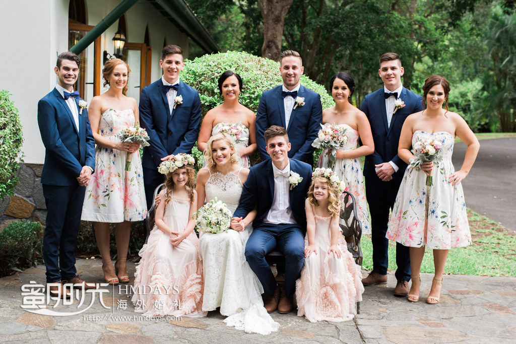 家庭照拍摄 澳洲庄园教堂婚礼