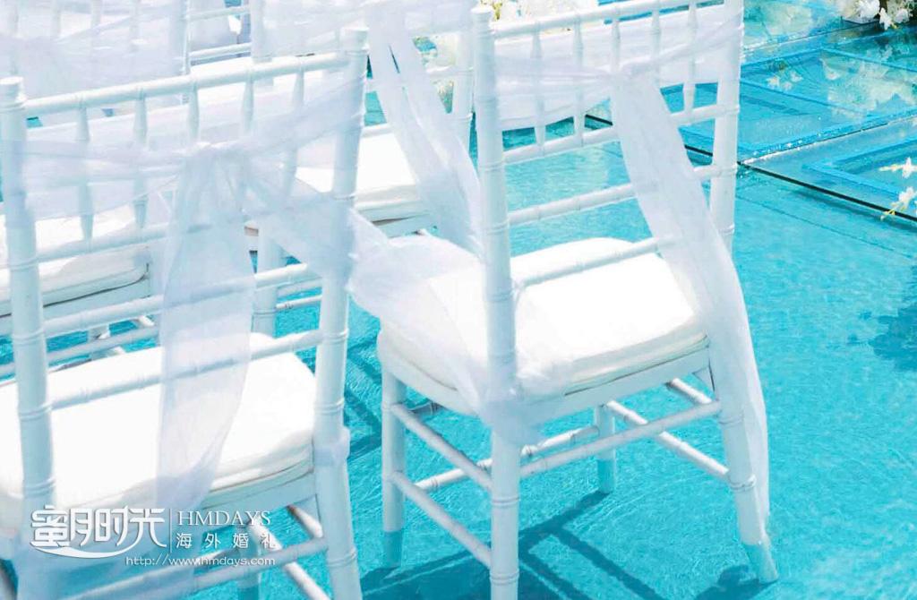 巴厘岛云镜水台婚礼