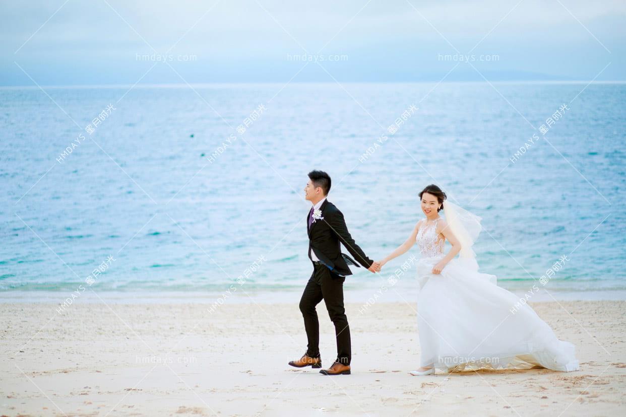 冲绳飞亚(海之空)教堂婚礼