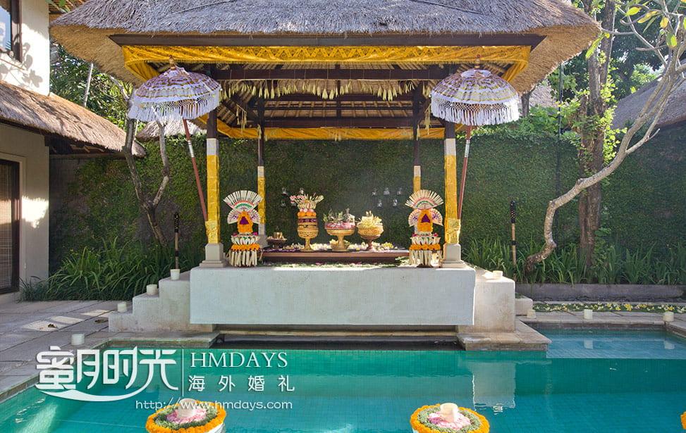 巴厘岛传统大婚仪式婚礼