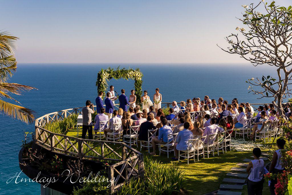 巴厘岛天堂庄园婚礼