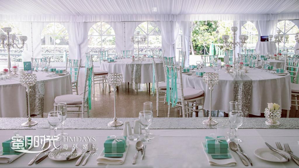 明亮的室内晚宴 澳洲庄园婚礼晚宴