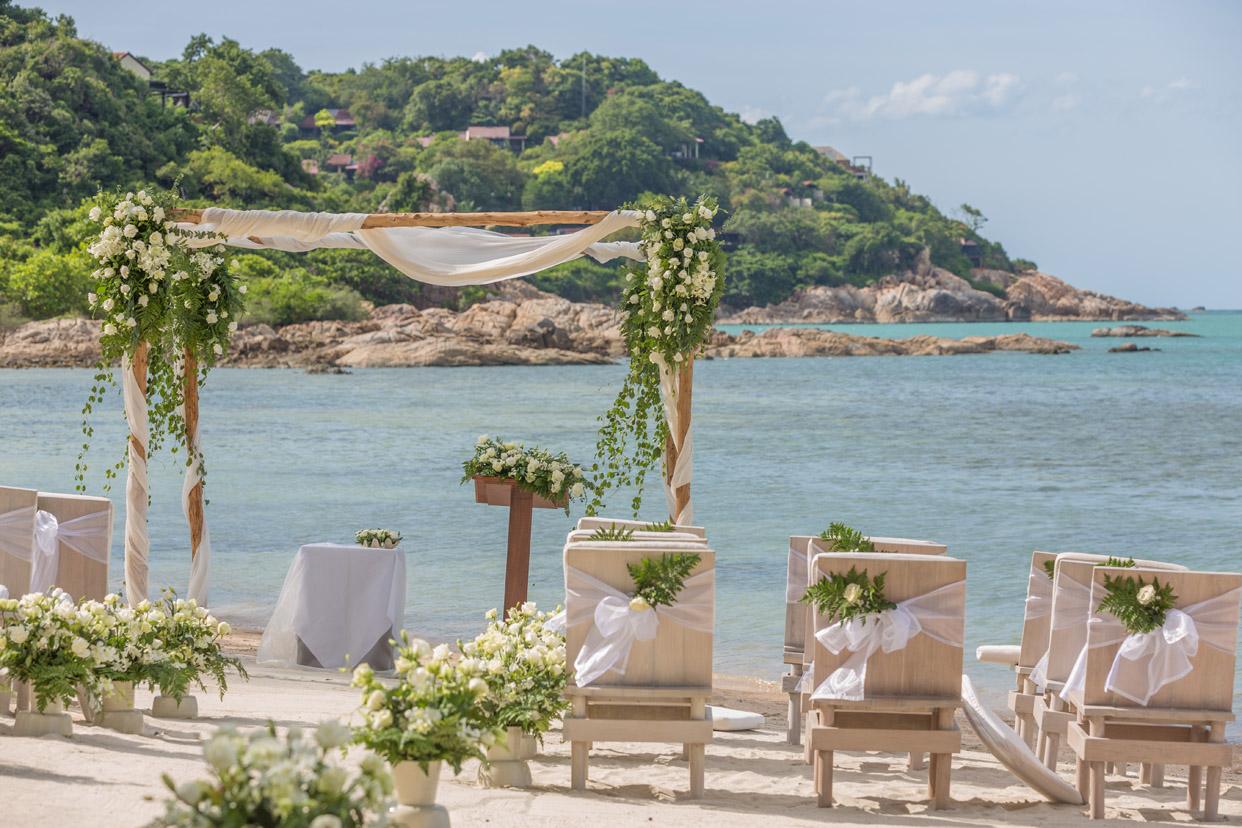 泰国苏梅岛萨拉婚礼
