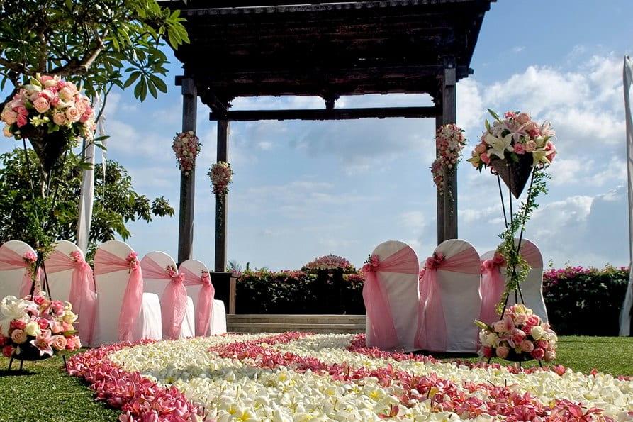 ASMARA场地 巴厘岛阿雅娜秘密花园婚礼