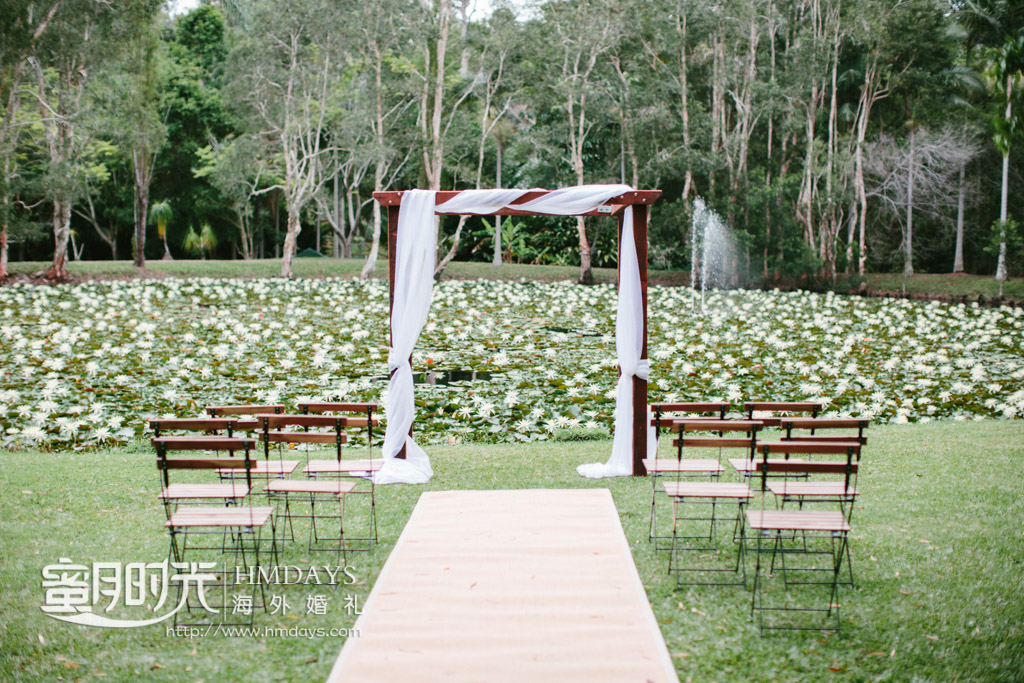 大树区域的海外婚礼,澳洲婚礼 澳洲庄园大树婚礼