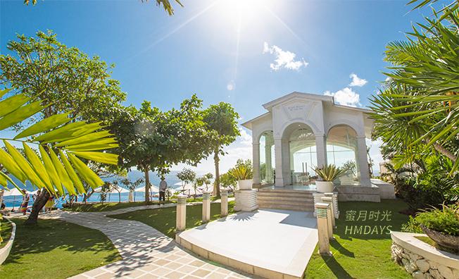 巴厘岛蓝点教堂婚礼