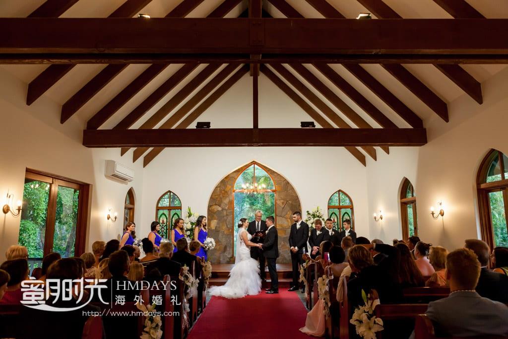 澳洲庄园教堂婚礼