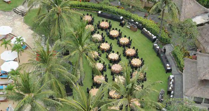 巴厘岛希尔顿叶子教堂婚礼