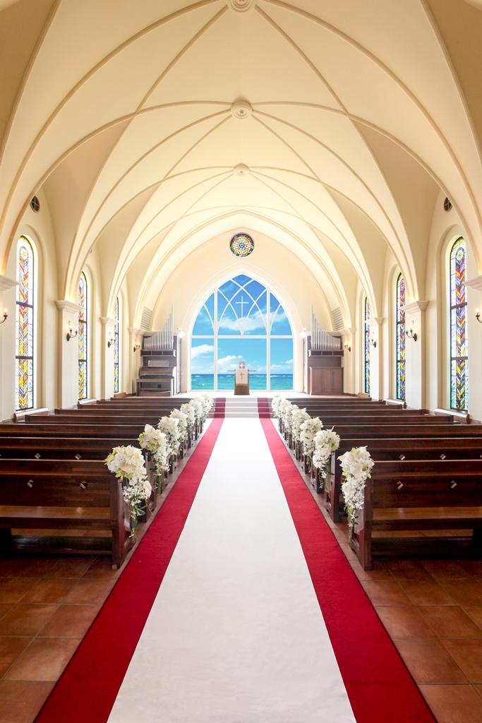 2019年标准布置 冲绳星耀(海之耀)教堂婚礼