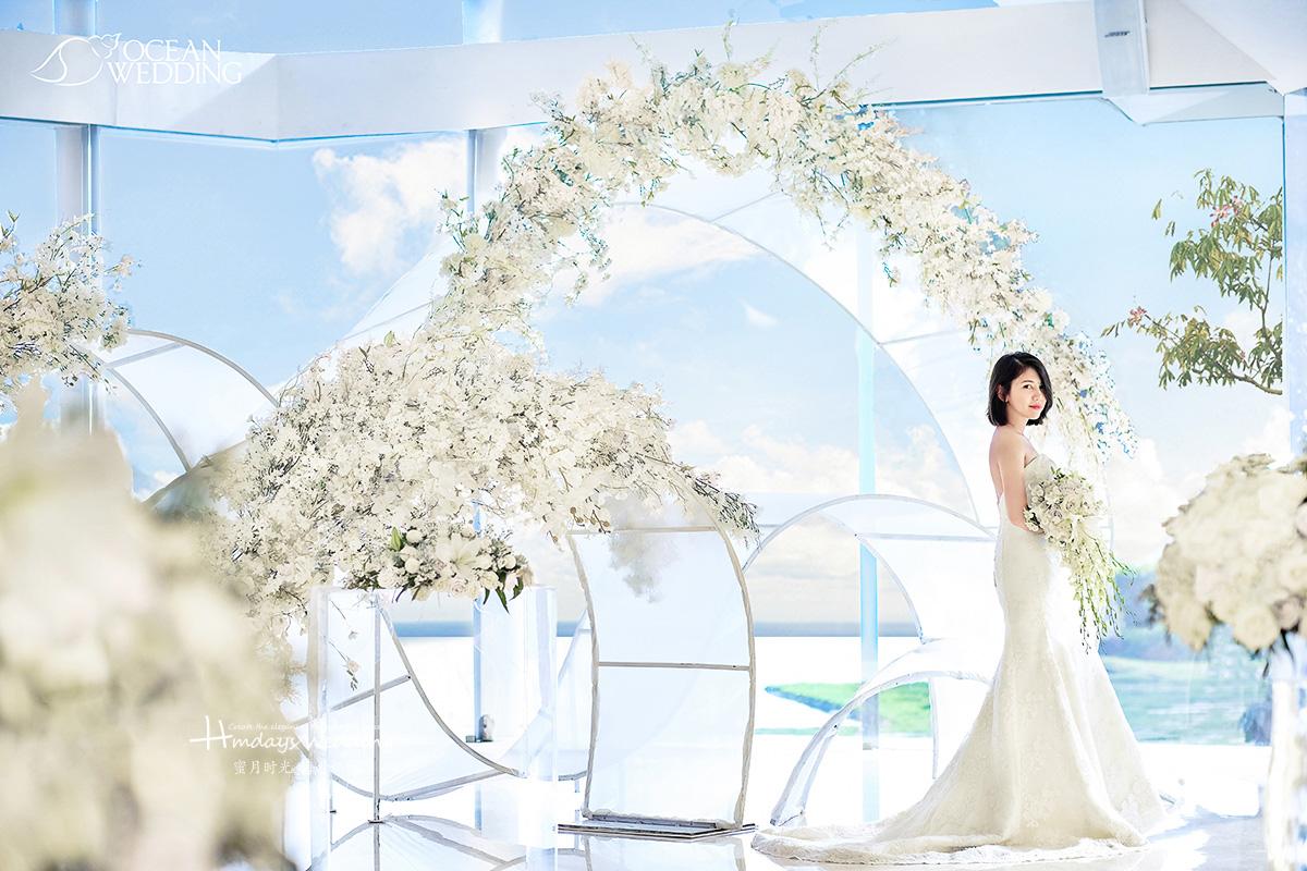 巴厘岛 海之教堂婚礼 《Anael阿奈尔》 主题布置