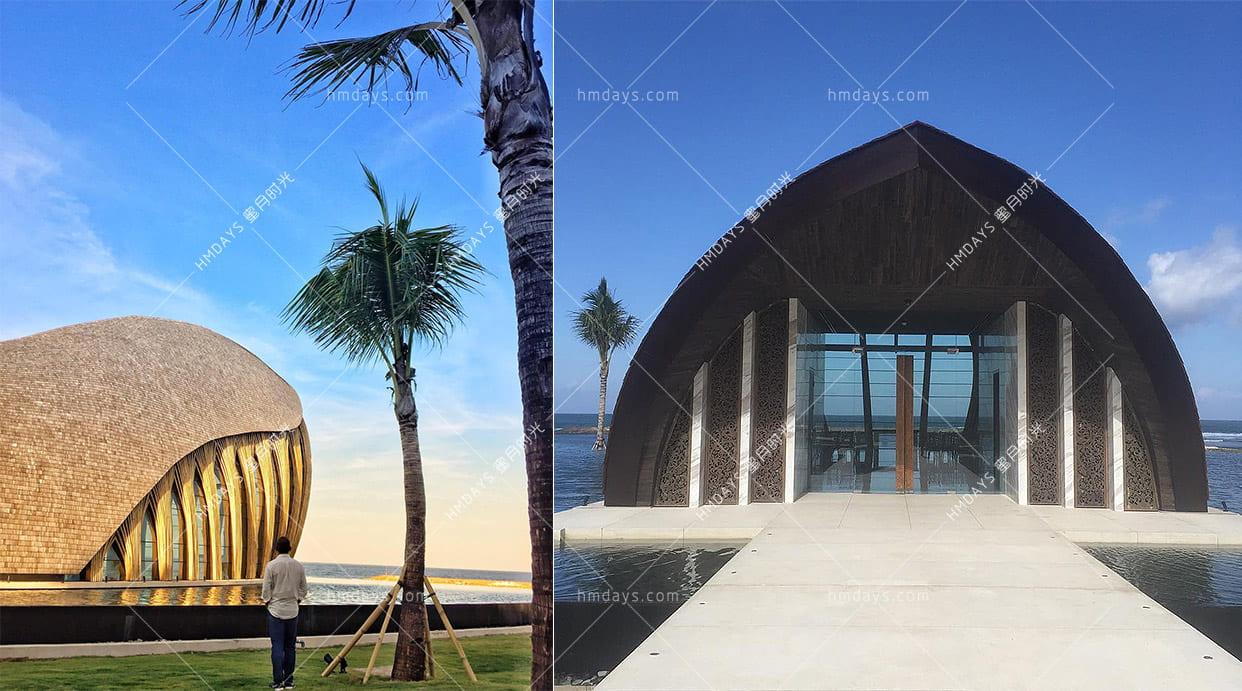凯宾斯基OCEAN_FRONT_教堂外观 巴厘岛凯宾斯基海景大教堂婚礼