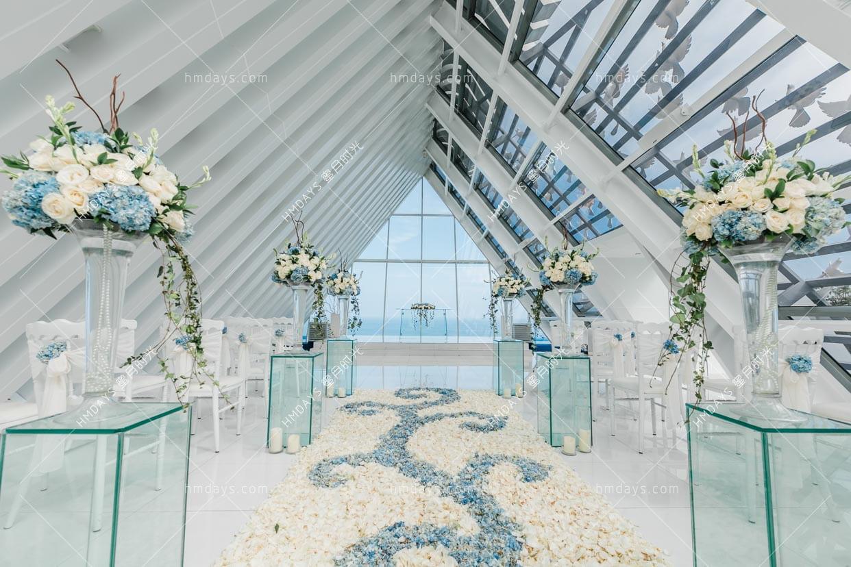 标准布置_蜡烛除外_ 巴厘岛白鸽教堂婚礼