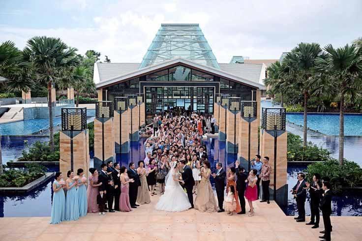 巴厘岛永恒教堂婚礼
