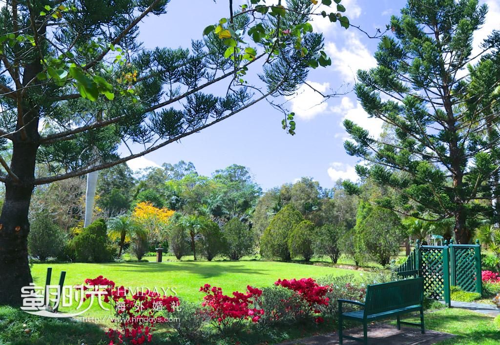 秀丽的庄园风景 澳洲婚礼庄园内景