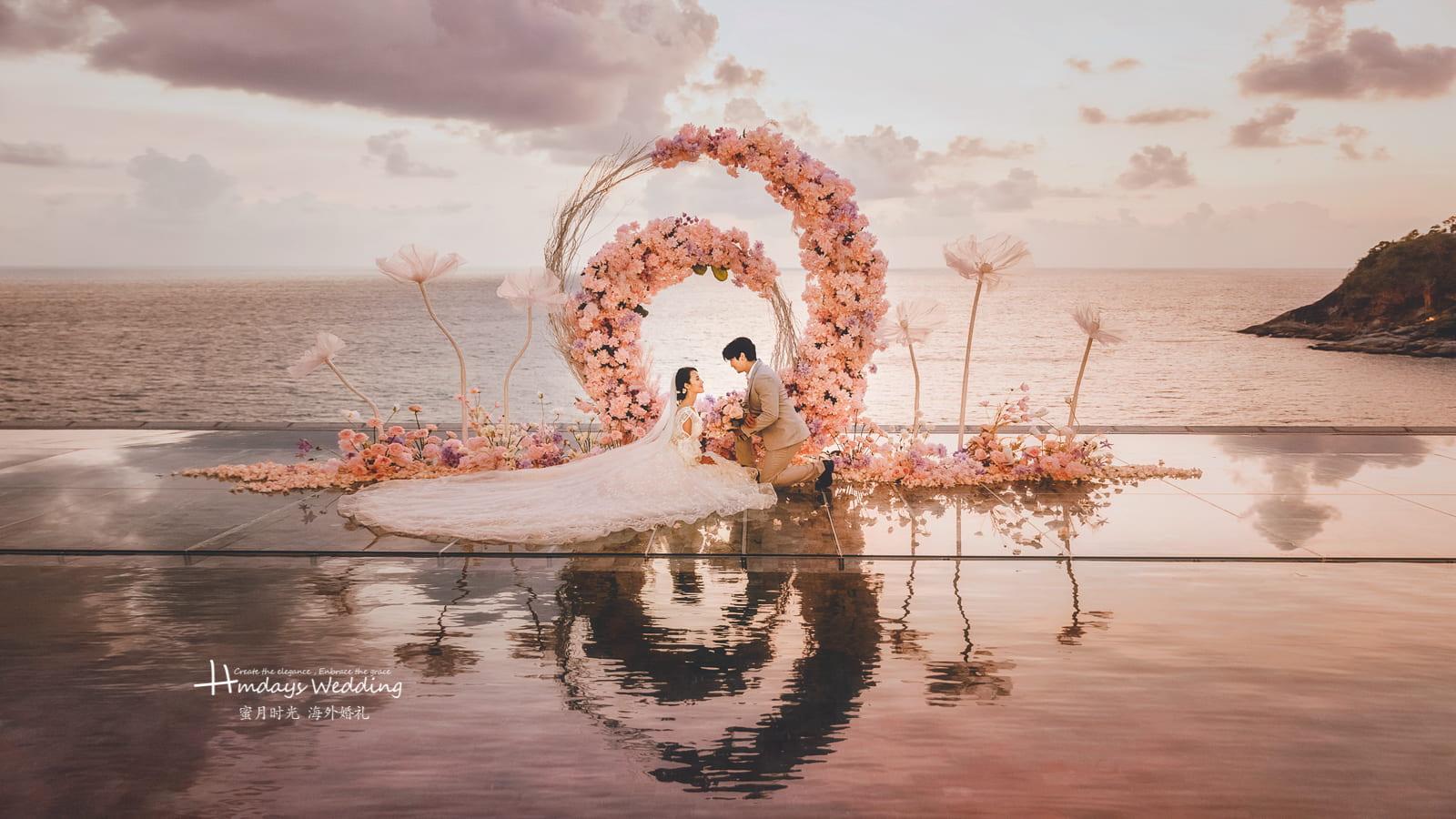 普吉岛天空之城婚礼场地样张参考