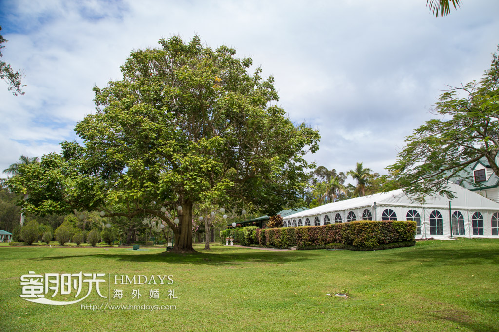 修理的庄园景色 澳洲婚礼庄园内景