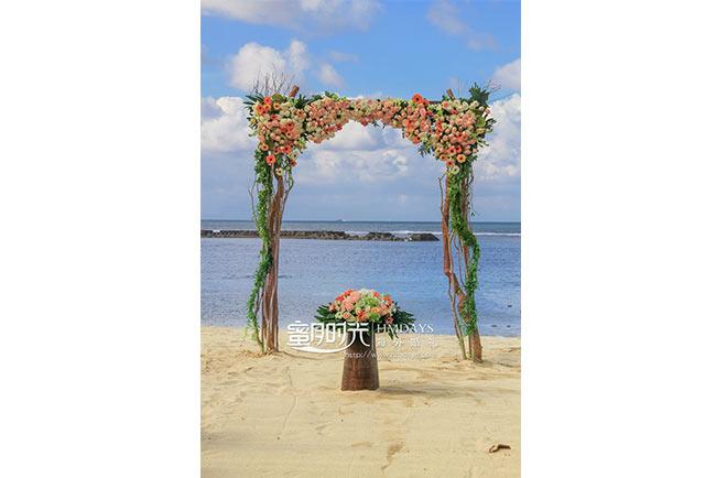 巴厘岛肉桂沙滩婚礼