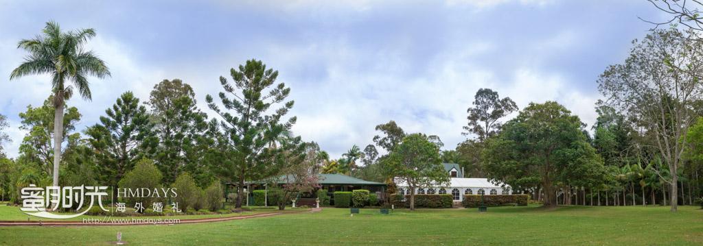 庄园远景 澳洲婚礼庄园内景
