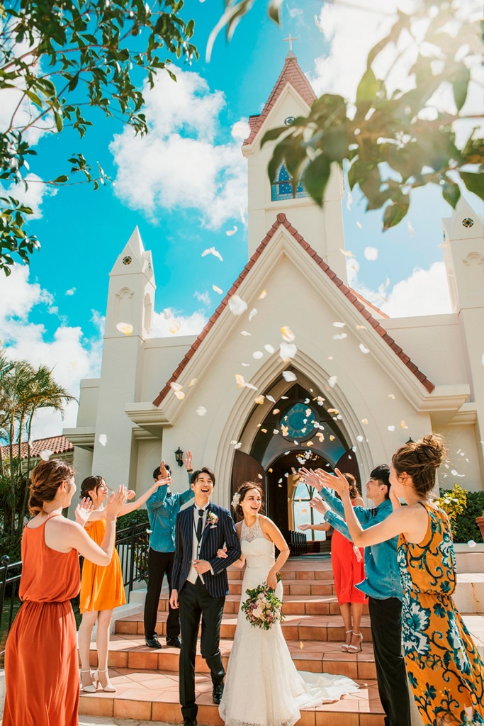 冲绳星耀(海之耀)教堂婚礼