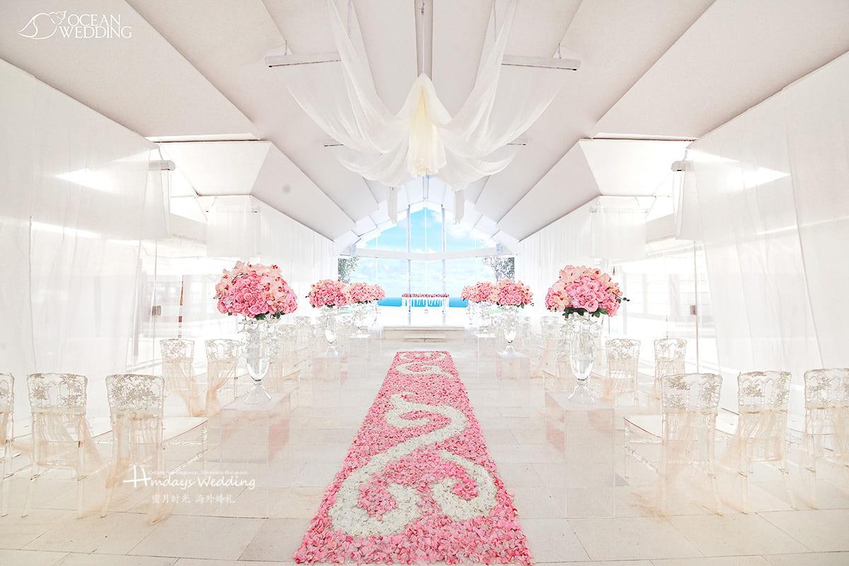 巴厘岛 海之教堂婚礼 EIGHT版布置 免费