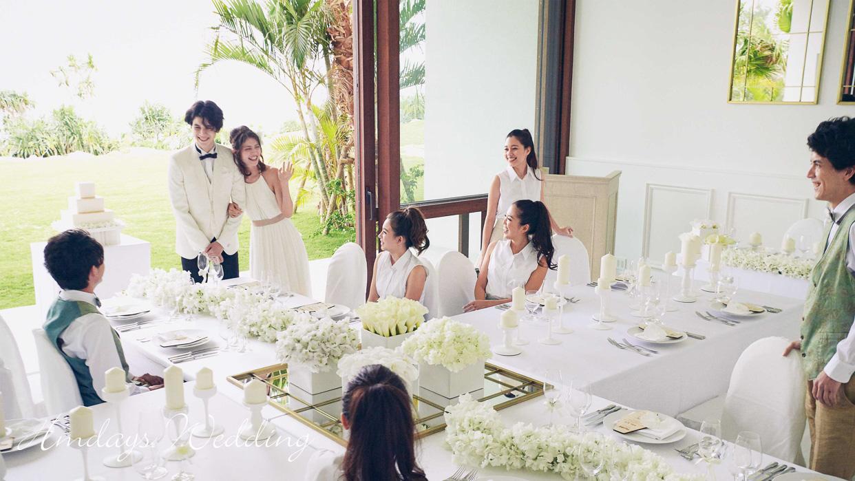 以冲绳特色佳餚_举行婚宴祝福派对 冲绳美之教堂婚礼