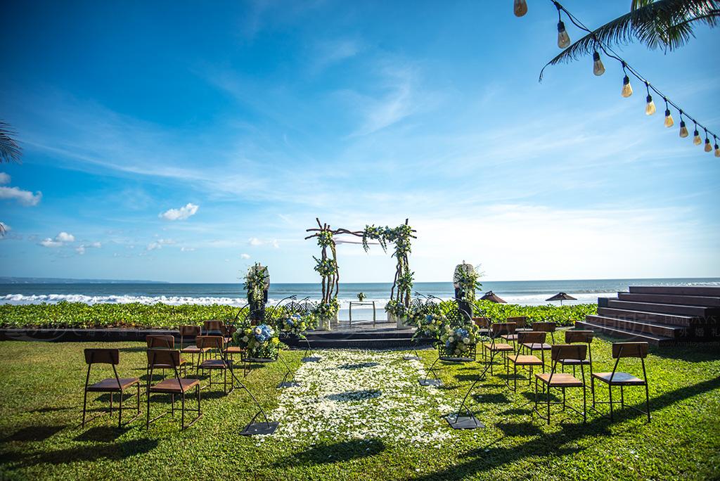 巴厘岛W沙滩婚礼 巴厘岛W酒店沙滩婚礼