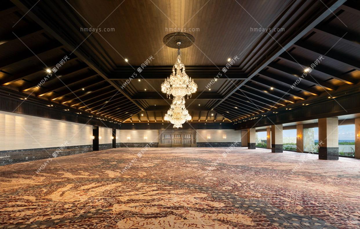 凯宾斯基宴会举办场地 巴厘岛凯宾斯基海景大教堂婚礼