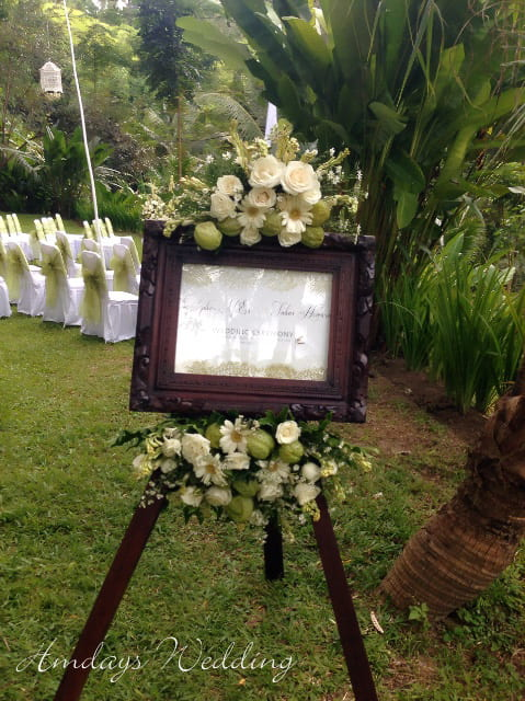 肉桂乌布花园婚礼 巴厘岛肉桂乌布婚礼