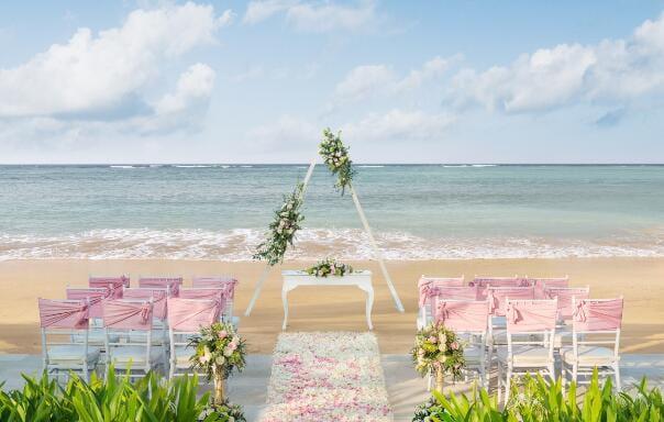 拉古娜海滩婚礼